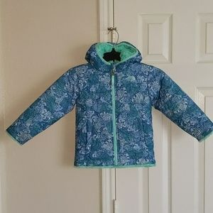North Face Toddler puffy reversible Jacket